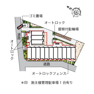 1R Apartment in Iko - Adachi-ku Floorplan