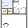 1K Apartment to Rent in Koganei-shi Floorplan