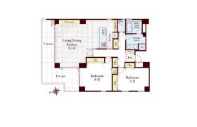 港区白金台-2LDK公寓大厦