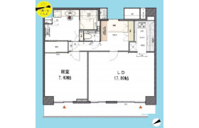1LDK {building type} in Shibuya - Shibuya-ku