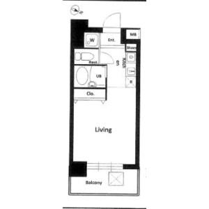 1R Mansion in Ohara - Setagaya-ku Floorplan