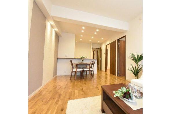 2SLDK Apartment to Buy in Ota-ku Living Room