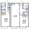 1K Apartment to Rent in Yokohama-shi Sakae-ku Floorplan