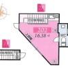 1R Apartment to Rent in Koto-ku Floorplan