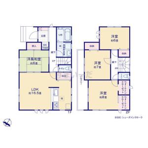 4LDK {building type} in Komatsu - Konosu-shi Floorplan