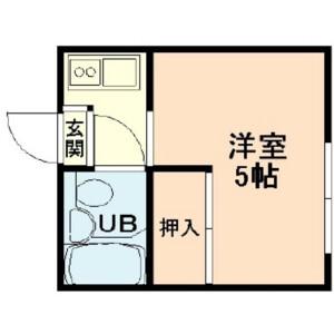 1K Mansion in Aioicho - Itabashi-ku Floorplan
