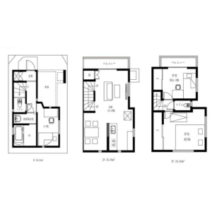 3LDK {building type} in Zoshigaya - Toshima-ku Floorplan