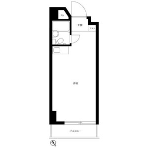 1R Mansion in Hommachi - Shibuya-ku Floorplan