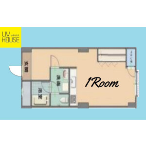 1R {building type} in Shibuya - Shibuya-ku Floorplan