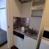 1K Serviced Apartment to Rent in Yokohama-shi Kohoku-ku Kitchen