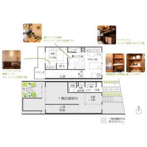 1LDK House in Tanaka shimoyanagicho - Kyoto-shi Sakyo-ku Floorplan