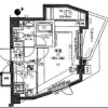 1K Apartment to Rent in Bunkyo-ku Floorplan