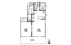 1LDK Apartment in Matsugaoka - Nagareyama-shi