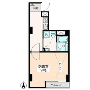 1K Mansion in Mejiro - Toshima-ku Floorplan