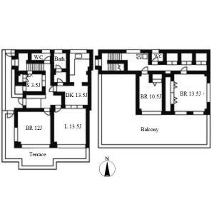 4LDK House in Matsusakaecho - Nagoya-shi Mizuho-ku Floorplan