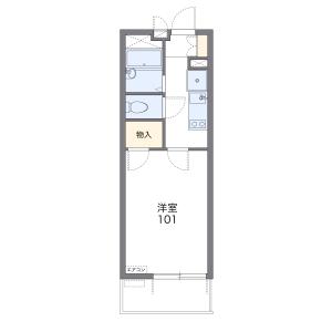 1K Mansion in Minamicho - Warabi-shi Floorplan