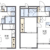 1K Apartment to Rent in Higashimurayama-shi Floorplan