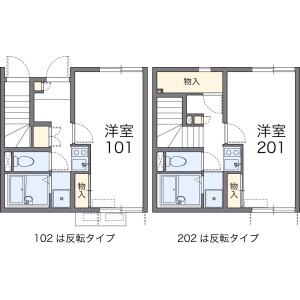 1K Apartment in Sanocho - Yokosuka-shi Floorplan