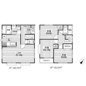 3LDK {building type} in Iriya - Zama-shi Floorplan