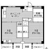 在横須賀市內租賃3DK 公寓大廈 的房產 房間格局