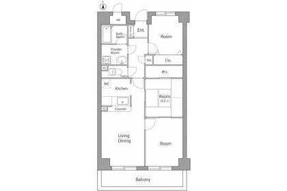 3LDK Apartment to Rent in Adachi-ku Exterior
