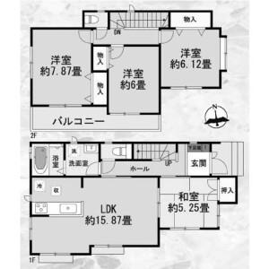 4LDK House in Odakacho - Nagoya-shi Midori-ku Floorplan