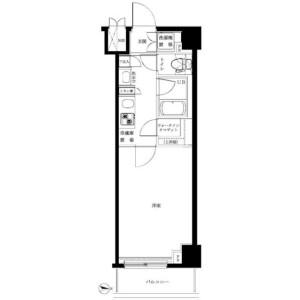 板橋區板橋-1K公寓大廈 房間格局