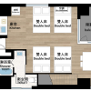 1R Apartment to Rent in Taito-ku Floorplan