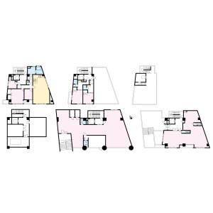 豊島區池袋本町-(整棟)樓房{building type} 房間格局