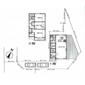 3LDK House in Otawa - Yokosuka-shi Floorplan