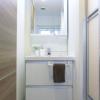 在港區購買1LDK 公寓大廈的房產 盥洗室