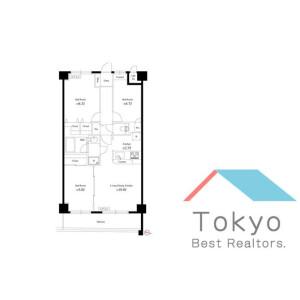 3LDK Mansion in Chuo - Nakano-ku Floorplan