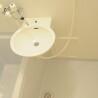 1K Apartment to Rent in Kyoto-shi Ukyo-ku Washroom