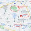 在目黒區購買1LDK 公寓大廈的房產 地圖