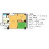2DK Apartment to Rent in Osaka-shi Chuo-ku Floorplan