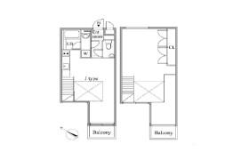 目黒区 - 目黒 公寓 1SLDK