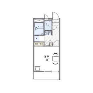 1K Mansion in Matsuyama - Naha-shi Floorplan