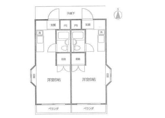 Whole Building Apartment to Buy in Tachikawa-shi Floorplan