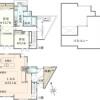 在世田谷区购买2LDK 独栋住宅的 楼层布局