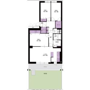 3LDK {building type} in Tate - Shiki-shi Floorplan