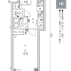 1K Apartment to Buy in Nerima-ku Floorplan