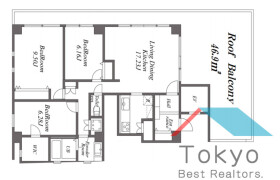 3LDK Mansion in Hommachi - Shibuya-ku