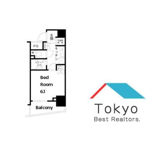 丰岛区東池袋-1K公寓大厦 楼层布局