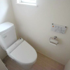 2LDK Terrace house to Rent in Komae-shi Toilet