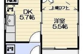 川崎市川崎区 渡田新町 1DK アパート