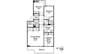 3LDK Apartment in Kitashinagawa(5.6-chome) - Shinagawa-ku