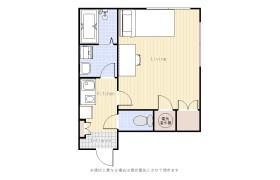 大田區西蒲田-1K公寓大廈