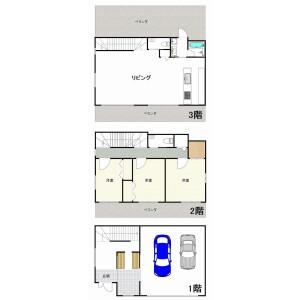 3LDK {building type} in Tomigusuku - Tomigusuku-shi Floorplan