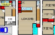 4LDK {building type} in Daikoku - Osaka-shi Naniwa-ku