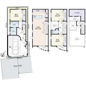 2LDK House in Nakameguro - Meguro-ku Floorplan